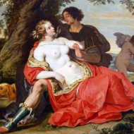 JANSSENS - Venus and Adonis (1620)